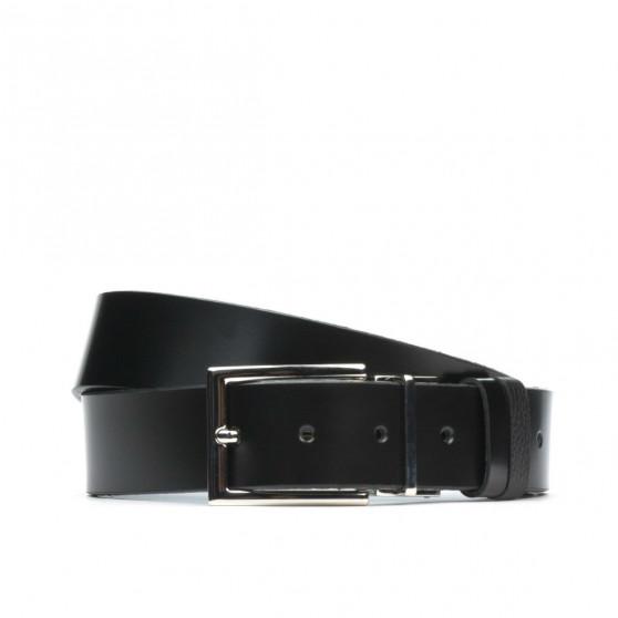 Men belt 36b black+biz black