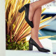 Women stylish, elegant shoes 1273 black