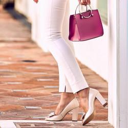 Women sandals 1271 beige