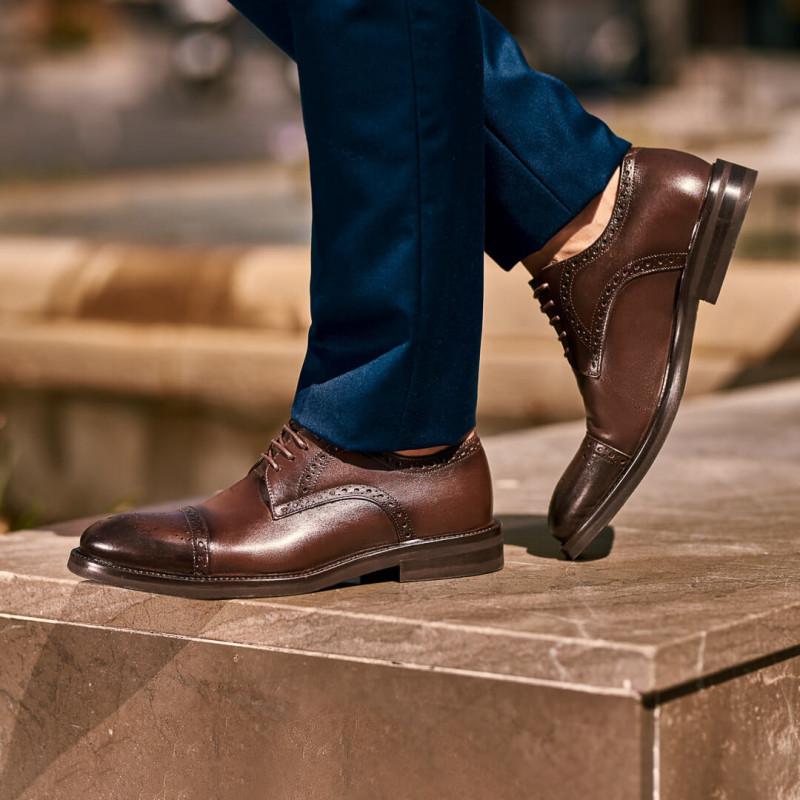 Pantofi eleganti barbati 896 a cafe lifestyle