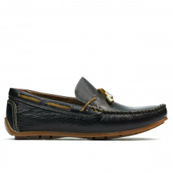 Teenagers moccasins, loafers 376 black