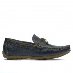 Teenagers moccasins, loafers 376 indigo