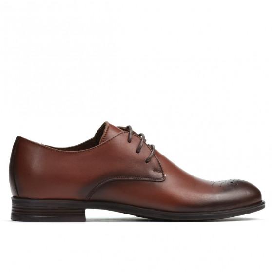 Pantofi adolescenti 398 a cognac