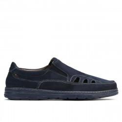 Men loafers, moccasins 898 bufo indigo