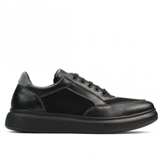 Pantofi casual/sport barbati 906 negru combinat