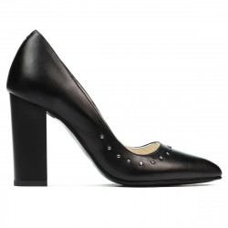 Women stylish, elegant shoes 1275 black