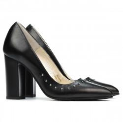 Women stylish, elegant shoes 1275 black