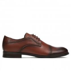 Teenagers stylish, elegant shoes 396 a cognac