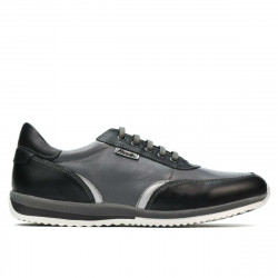 Teenagers stylish, elegant shoes 374 black+gray