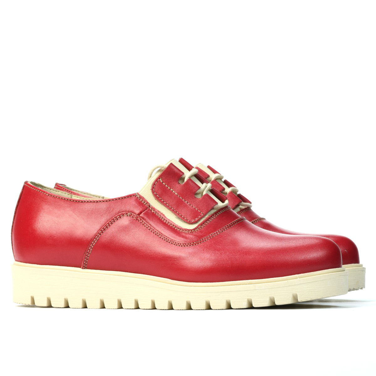 Women casual shoes 6018 ginger. Natural