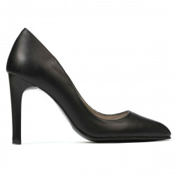 Women stylish, elegant shoes 1276 black