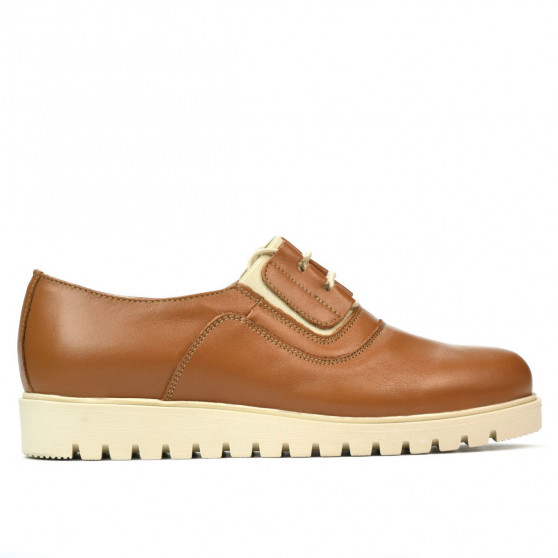 Women casual shoes 6018 brown