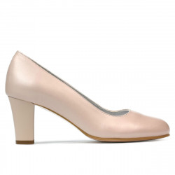 Women stylish, elegant shoes 1209 nude
