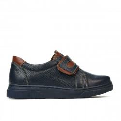 Pantofi copii 2004 indigo+maro