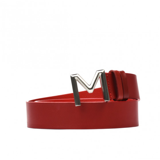 Women belt 13m red