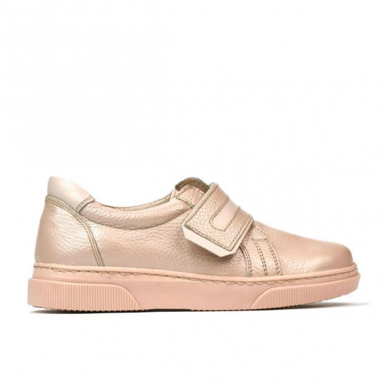 Pantofi copii 2004 pudra combinat
