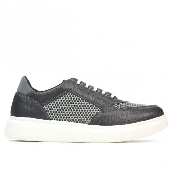 Pantofi casual/sport barbati 906-1 gri combinat