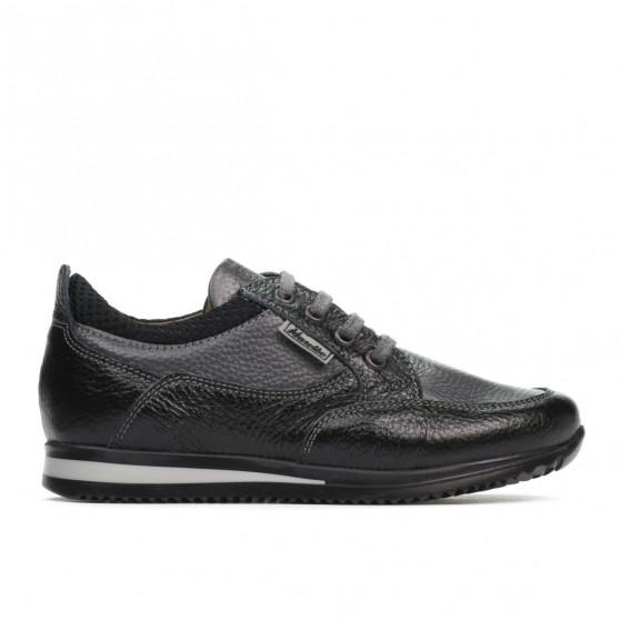 Pantofi copii 2001 negru+gri
