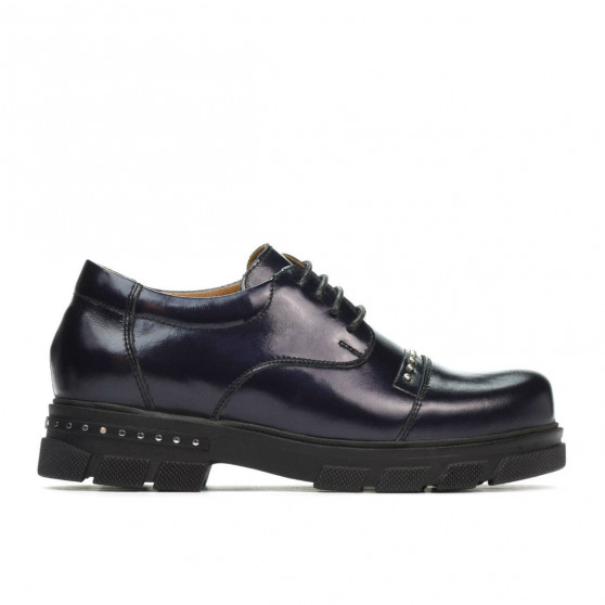 Pantofi copii 2003 lac indigo