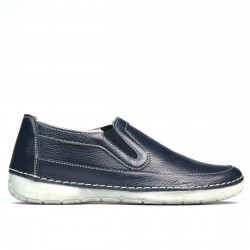 Women loafers, moccasins 6000s indigo