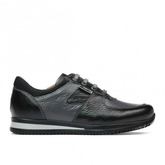 Pantofi copii 2002 negru+gri