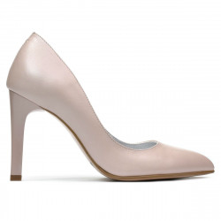 Women stylish, elegant shoes 1276 nude