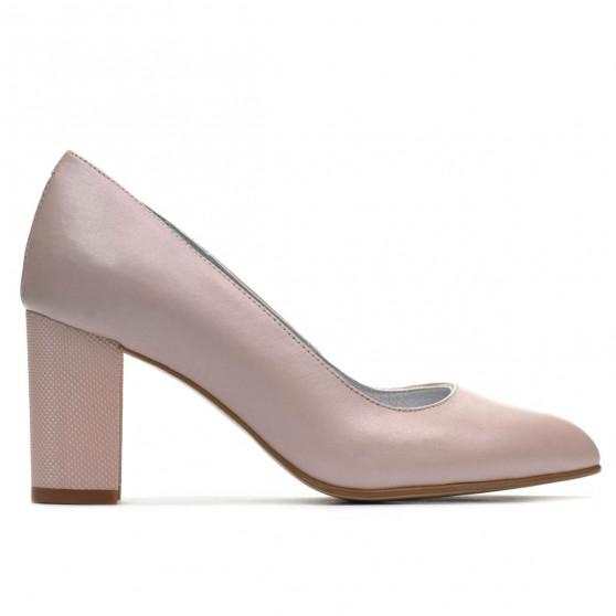 Women stylish, elegant shoes 1273 nude