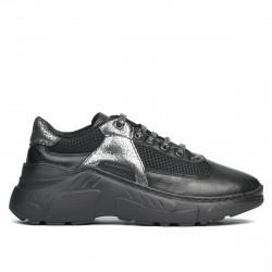 Pantofi sport dama 6015 negru combinat