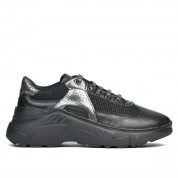 Women sport shoes 6015 black combined