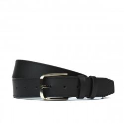 Men belt 36bc black mat