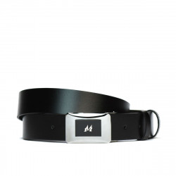 Men belt 42b black