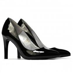 Pantofi eleganti dama 1276 lac negru
