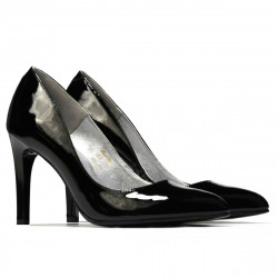 Women stylish, elegant shoes 1276 patent black