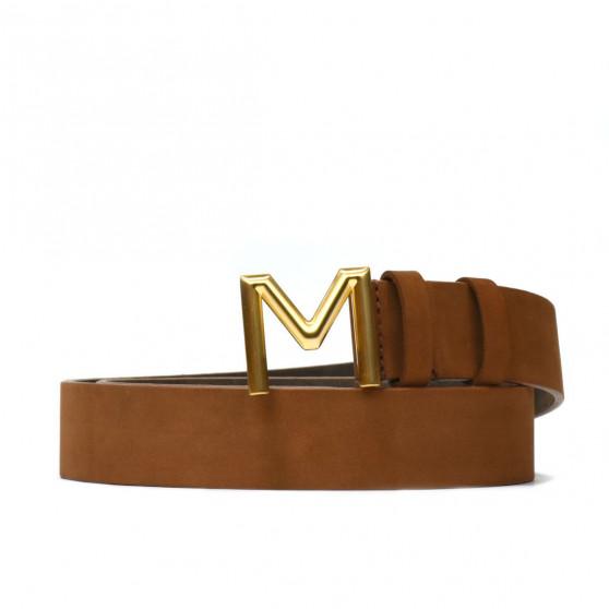Women belt 08m bufo brown