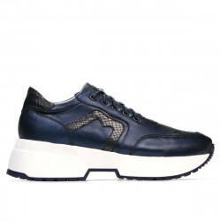 Pantofi sport dama 6019 indigo sidef combinat