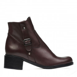 Women boots 3319 bordo