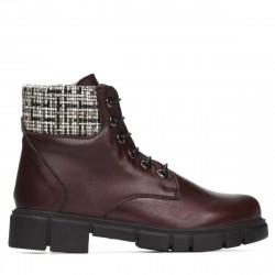 Women boots 3341 bordo