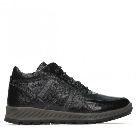 Men boots 4120 black+gray