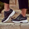 Pantofi sport dama 6019 negru combinat