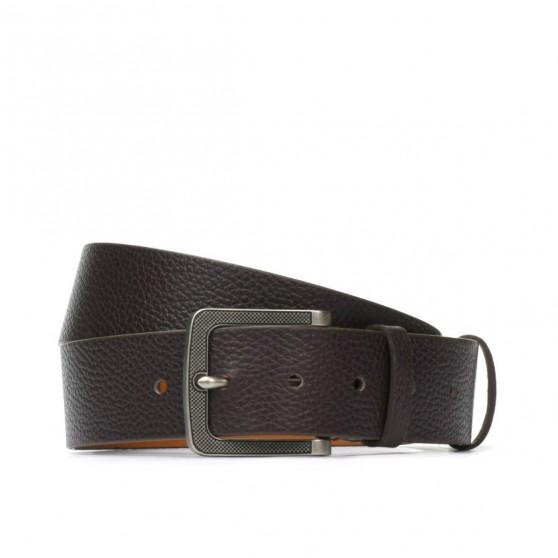 Men belt 10b biz brown