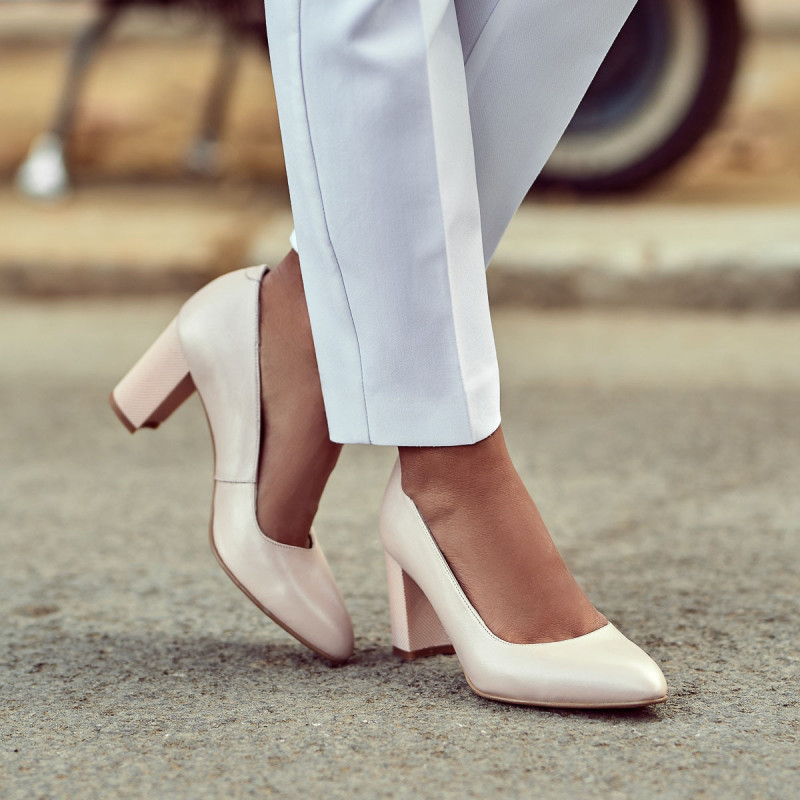 Pantofi eleganti dama 1273 nude lifestyle