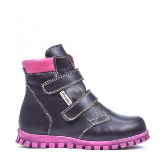 Small children boots 32c purple combined