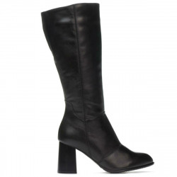 Women knee boots 1176 black