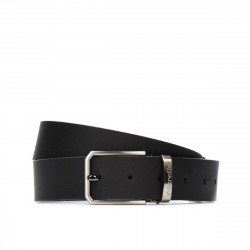 Men belt 40b black mat