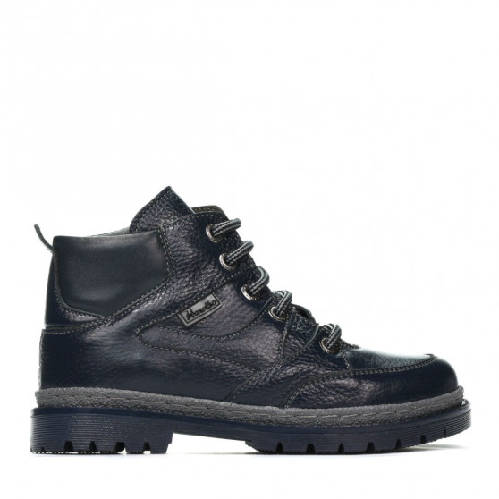Children boots 3017 indigo+gray