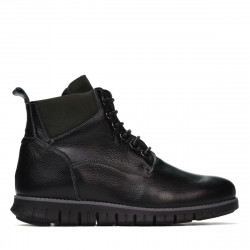 Men boots 4108 black+gray