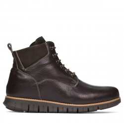 Men boots 4108 cafe+brown