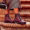 Women boots 3343 bordo combined