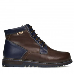 Men boots 497 cafe+indigo