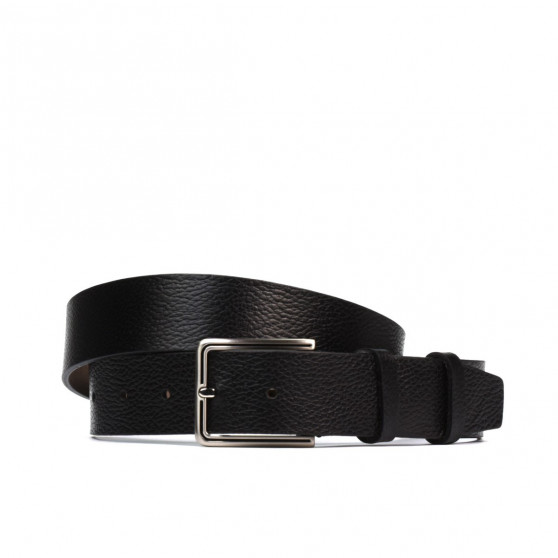 Men belt 43b biz black